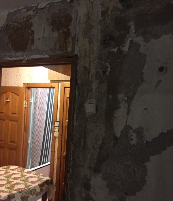 Заделка швов в доме из оцилиндрованного бревна